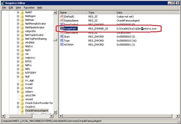 Invalid String in Registry